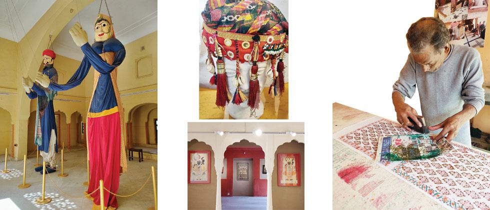 An offbeat museum trail in the Pink City gives you glimpses of the lesser known art and heritage, textiles and turbans