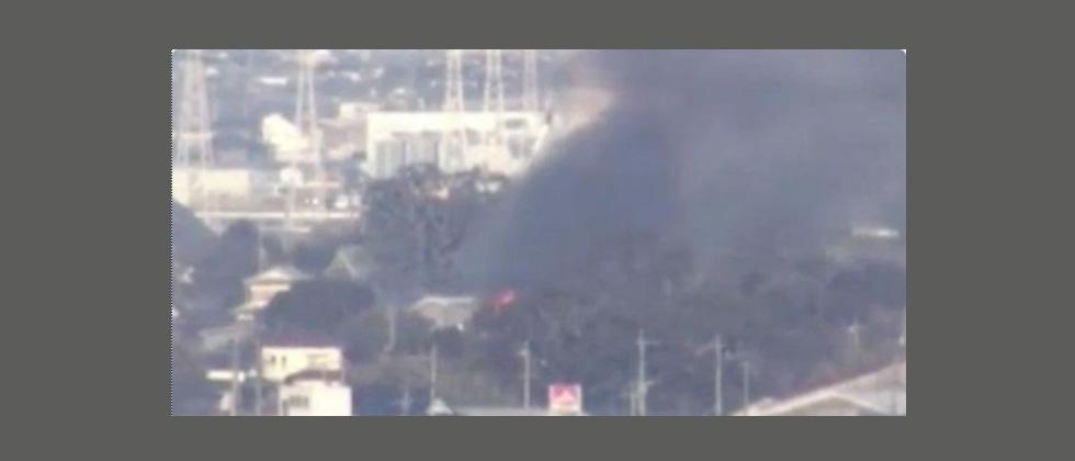 Japan army helicopter crashes in residential area: official