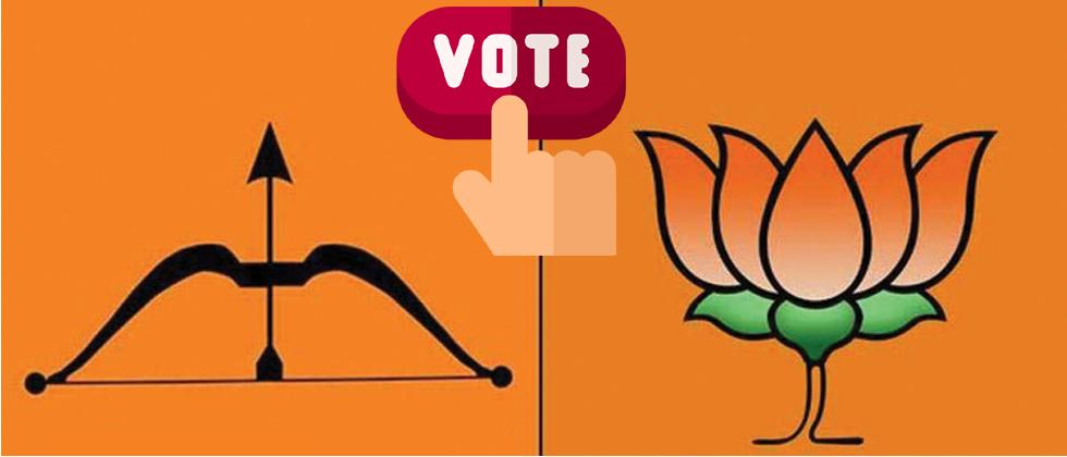 BJP and Shiv Sena face rebels, workers' anger