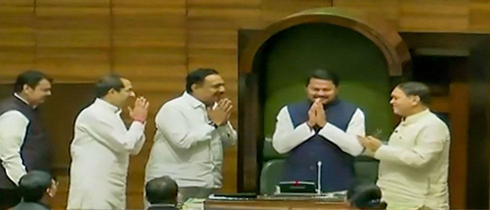 Congress' Patole elected unopposed as Maha Speaker
