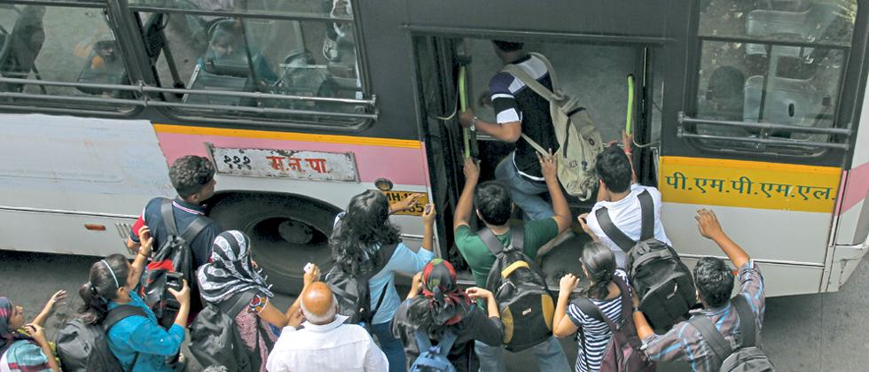 PMPML not to allow standing passengers