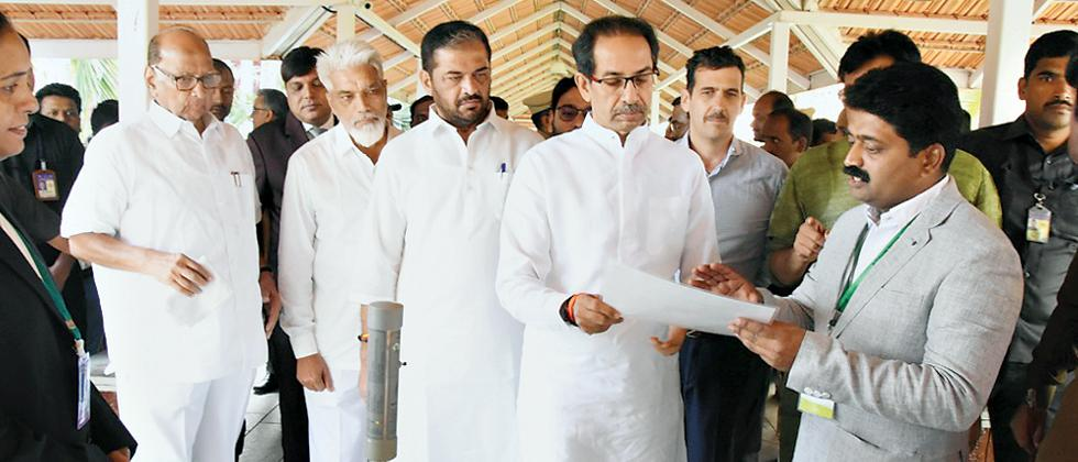 Committed to making farmers in State self-reliant, says Thackeray