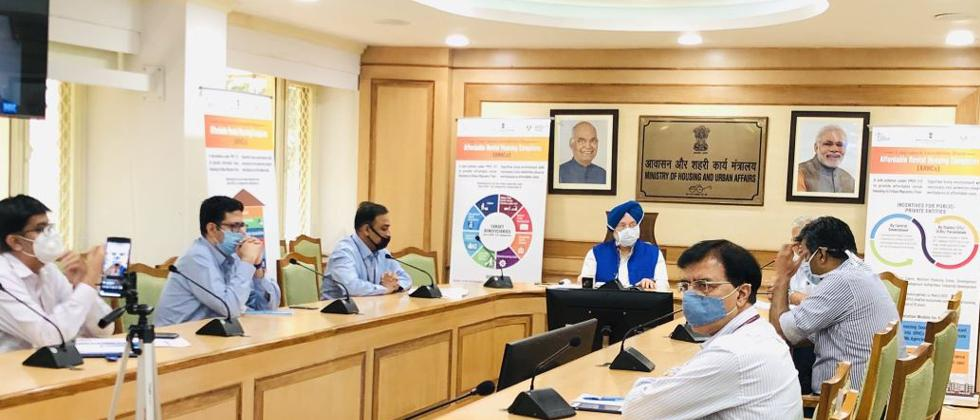 Housing Minister Hardeep Puri launches online platforms to market residential properties
