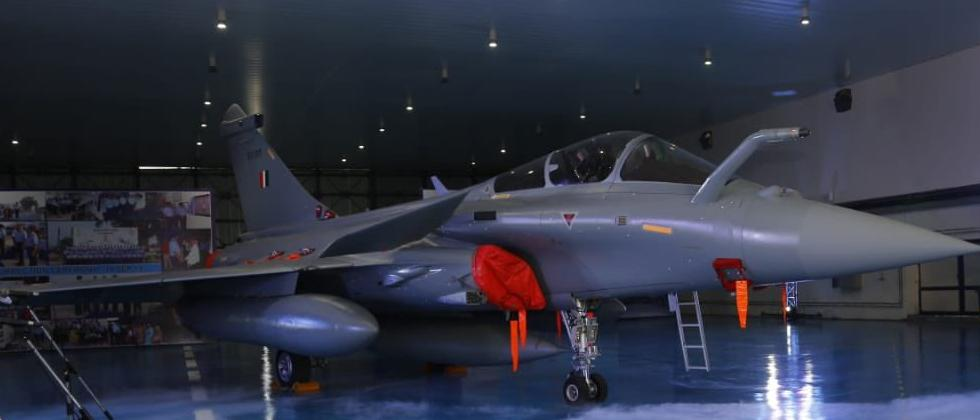 Five Rafale fighter jets inducted into Air Force in dazzling ceremony at Ambala