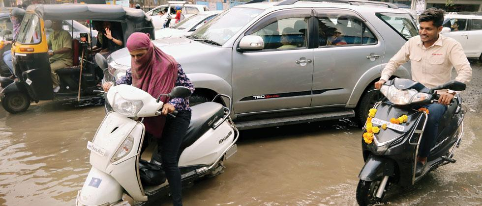 Rains may continue in the city till Monday