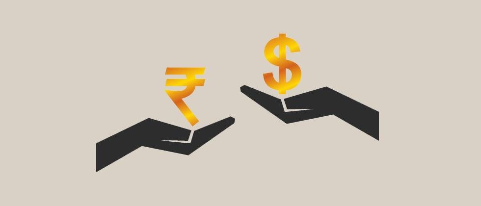 Here's how Indian Rupee closed against the US dollar