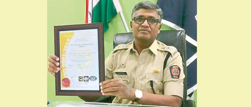 SRPF Gr 2 gets ISO certification for its services, work management