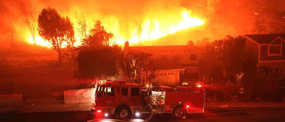 Twenty-nine major wildfires were still burning across California as of Friday, with approximately 14,000 firefighters battling them, Cal Fire reported.
