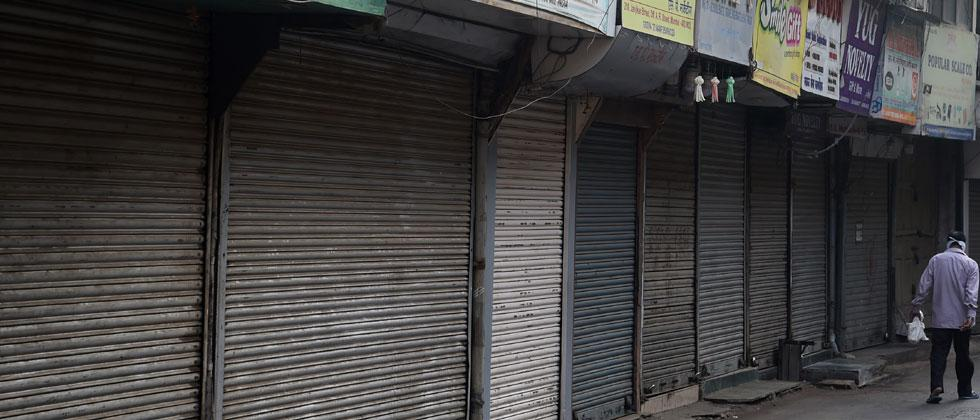 All shops barring milk to be closed in some parts of city