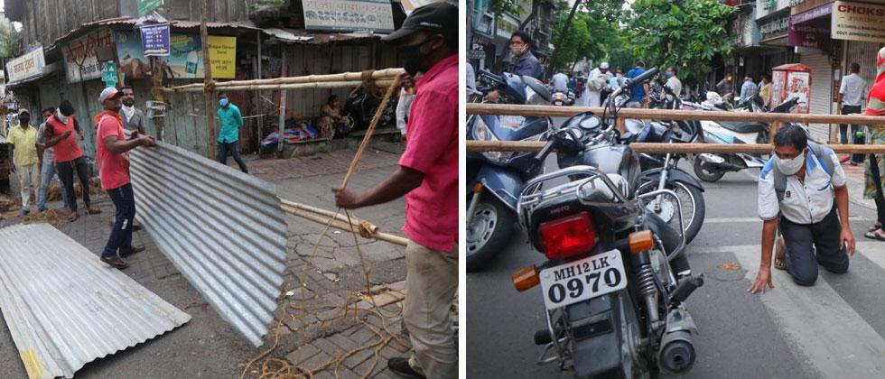 Police block roads 30 hours before lockdown; citizens angry over 'over-enthusiasm' of police