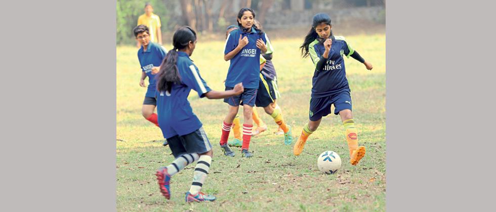 Enakshi gives Angles High School 2-0 win