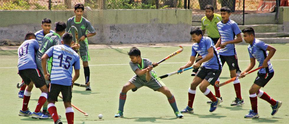 2 MLI, Hockey United, PSC have it easy; Railway Police struggle