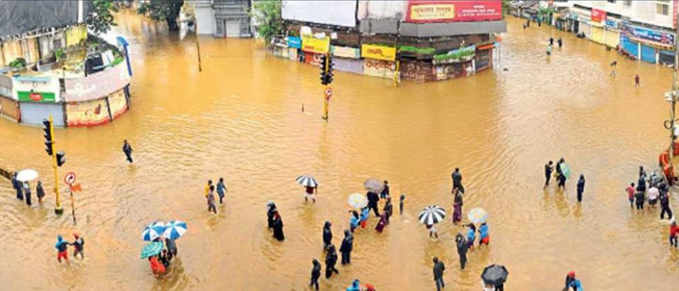 Unscientifically changed flood lines causing floods in city