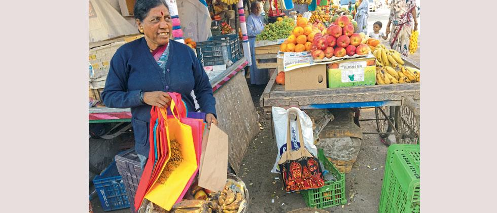 Vendors, residents and Gram Panchayat of Dehugaon have unanimously decided to stop using plastic instead use paper and cloth bags, a step towards safer envoirnment