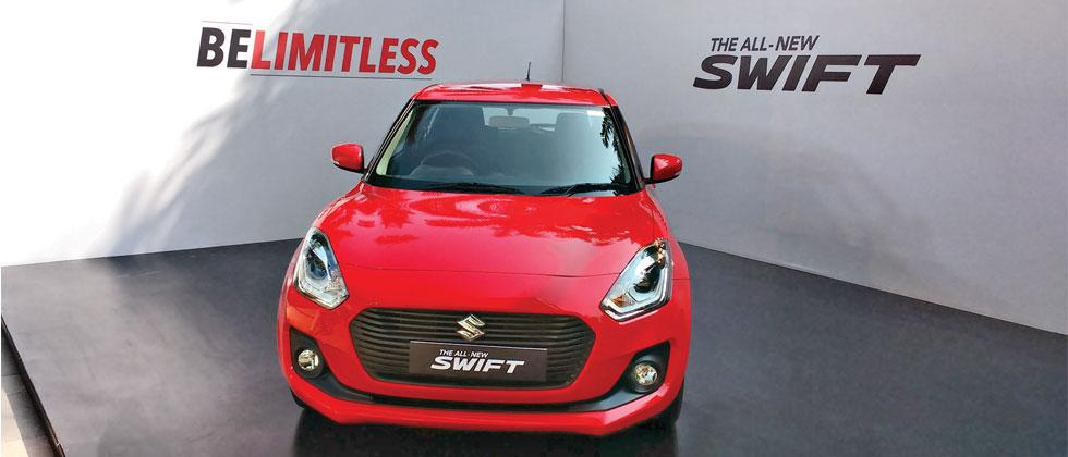 The all new Swift is now available for pre-booking