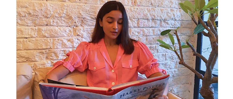 Watch video: Alia Bhatt joins Harry Potter at Home initiative with Alec Baldwin