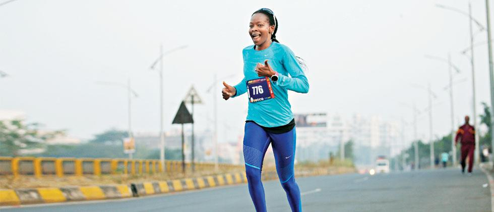 To run is to stay healthy