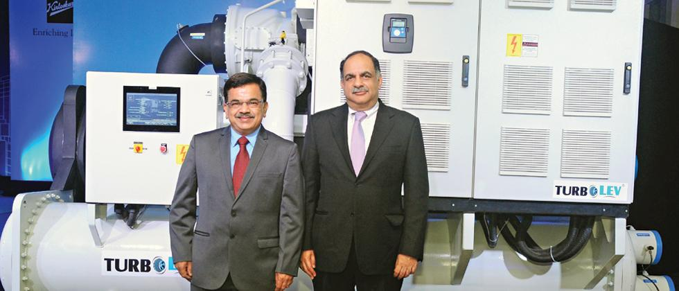 Kirloskar Group launches series of chillers with oil-free centrifugal compressor