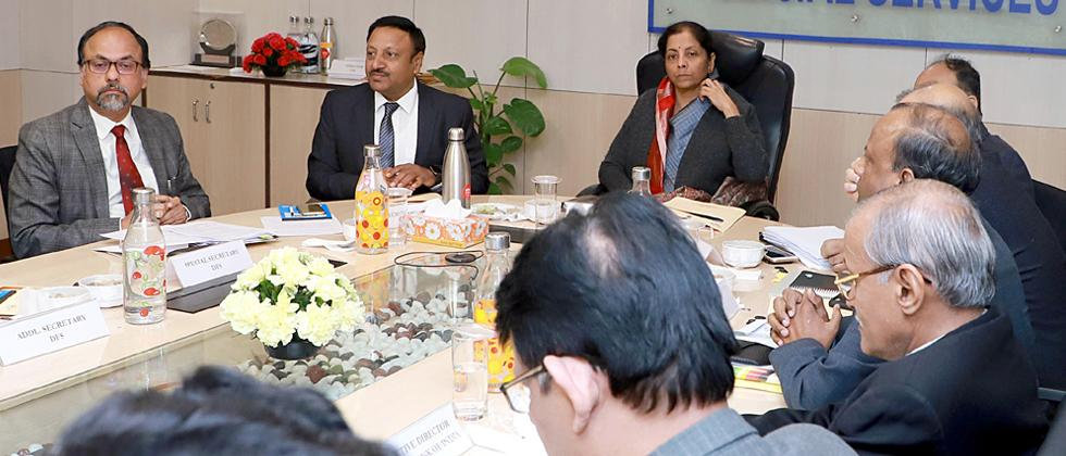 Banks instructed to clear pending vigilance cases against officials: Sitharaman