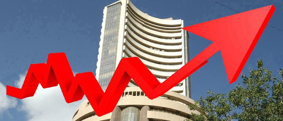 Sensex jumps nearly 300 pts; Nifty tests 11,300