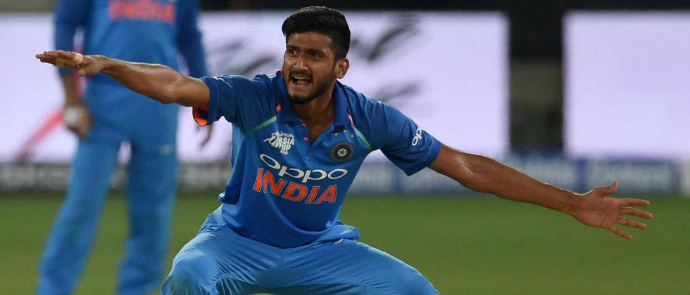 Khaleel Ahmed ruled out of India A tour with fractured wrist