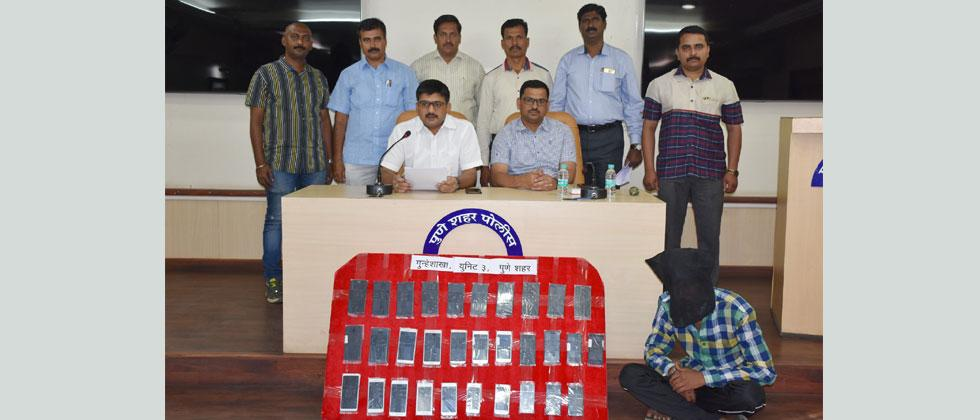 Police recover 31 mobiles from 19-yr-old thief