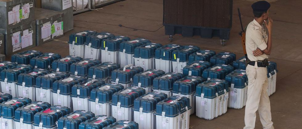 EVMs 'absolutely safe' in strongrooms: EC