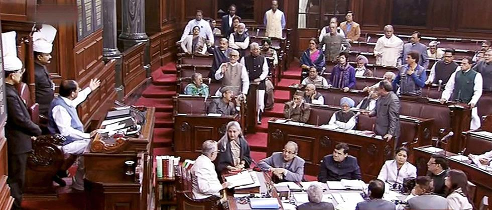 Oppn disrupts RS proceedings over Hegde's remarks