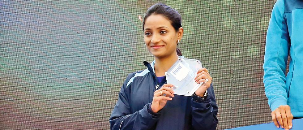 Elite runner Monika Athare shows her class with silver medal in comeback race