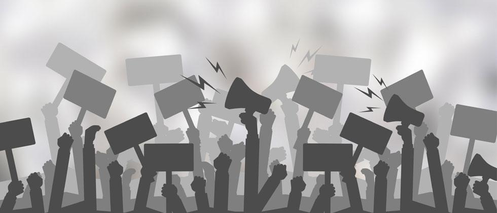 Trade unions protest in industrial belt; demand financial support from government