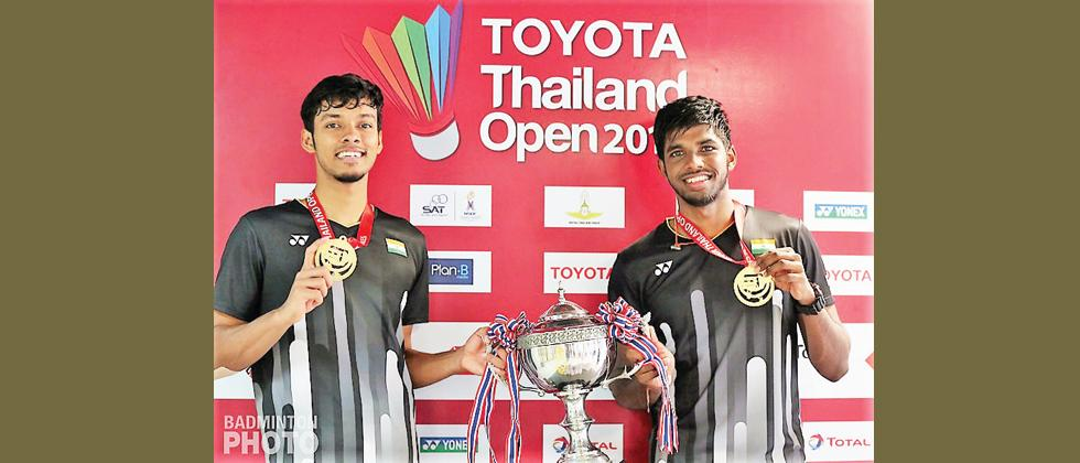 Satwik and Chirag win India's biggest doubles title