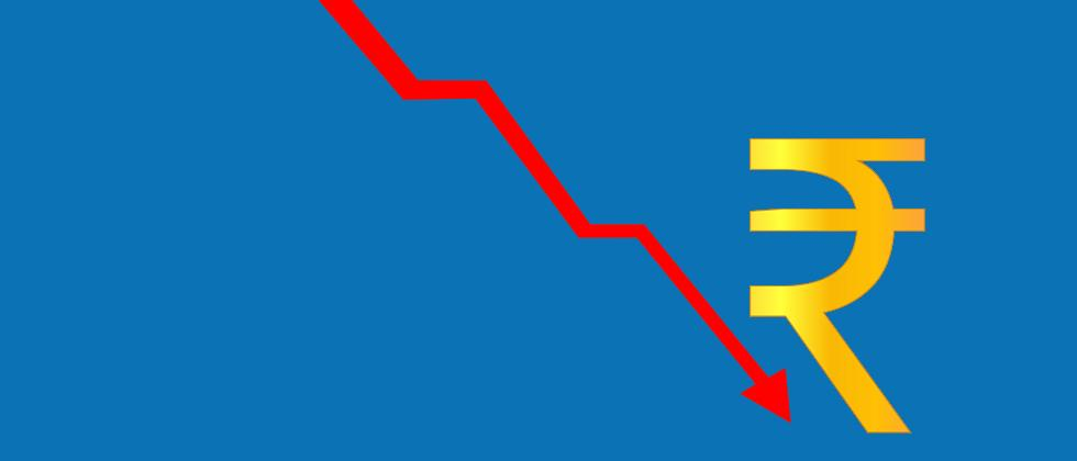 Rupee hits new low of 73.34, plunges 43 paise against USD