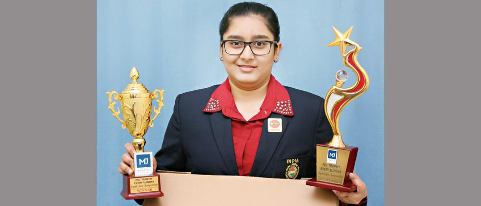 Aakanksha bags Every Sunday Rapid chess title