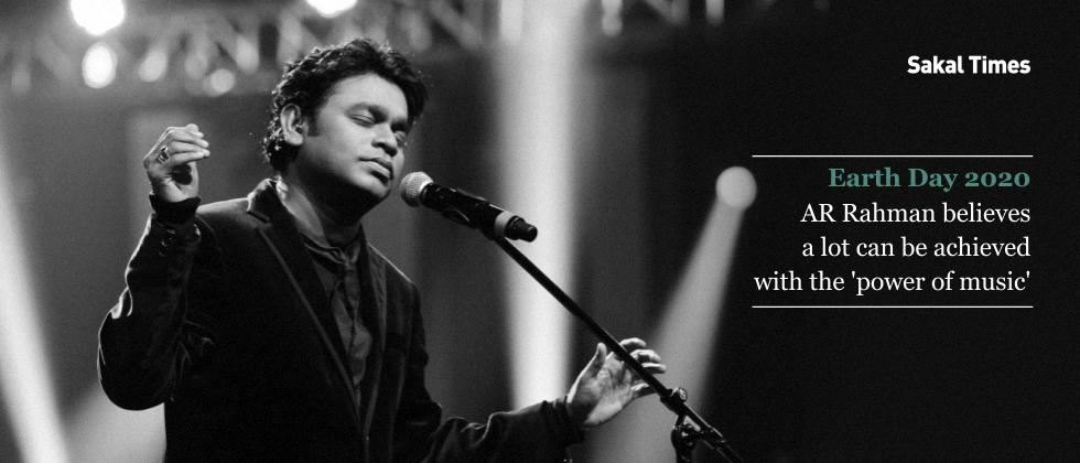Earth Day 2020: AR Rahman believes a lot can be achieved with the 'power of music'