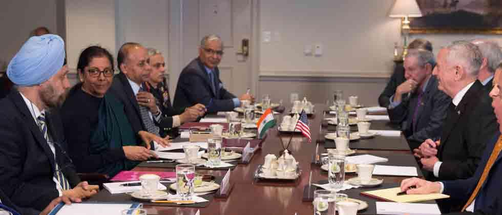 India, US agree to accelerate defence and security ties as Sitharaman meets Mattis at Pentagon