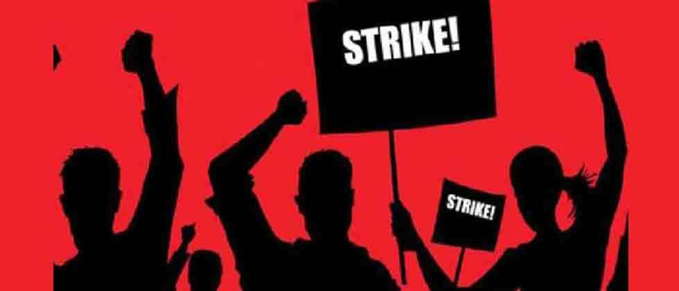 10 central trade unions go on nationwide strike