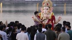 The civic administration has banned taking out processions as well as immersion in artificial tanks created in several parts of the city to immerse Ganesh idols on the 'visarjan' day.