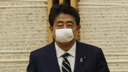 Japan's Prime Minister Shinzo Abe lifts state of emergency