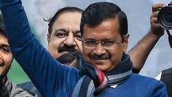 Arvind Kejriwal: 'aam aadmi' scripts extraordinary win to return as Delhi CM
