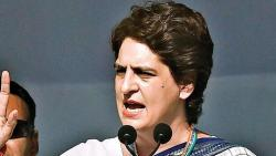 Priyanka Gandhi lashes out at Yogi Adityanath, says it's jungleraj in Uttar Pradesh