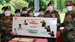 COVID-19 outbreak: Southern Command honours COVID Warriors at AFMC Pune