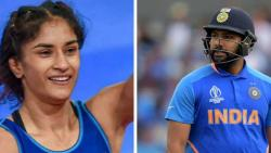 Rohit Sharma, Vinesh Phogat among 5 athletes to receive Khel Ratna
