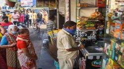 Pune: Social distancing rules flouted,shops see less customer footfall