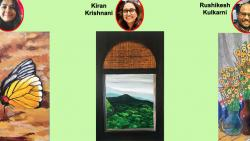 Artists Vrushalee Joshi, Rushikesh Kulkarni and Kiran Krishnani have interpreted varied forms of nature and are presenting them through their paintings
