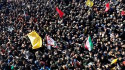 35 killed in stampede during Soleimani's funeral procession