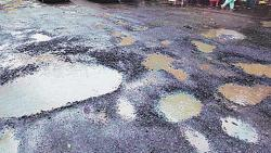 Bhor Congress warns of agitation if potholes not filled within 10 days