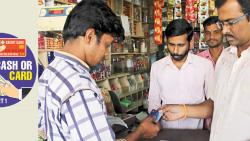 It's cash over card for retailers