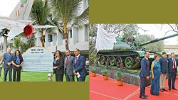 MiG-21, T-55 tank unveiled at The Bishop's School