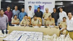 5 held, 50 theft cases solved