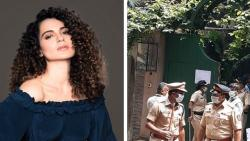 Kangana Ranaut arrives Mumbai; HC asks BMC to stop demolition at her bungalow